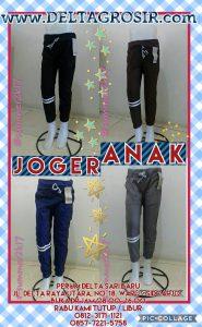 Grosir Baju Murah Surabaya,SMS/WA ORDER ke 0857-7221-5758 Pusat Kulakan Celana Jogger Anak Stretch Murah