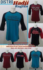 Grosir Baju Murah Surabaya,SMS/WA ORDER ke 0857-7221-5758 Pusat Kulakan Kaos Distro Hadjie Raglan Dewasa Murah