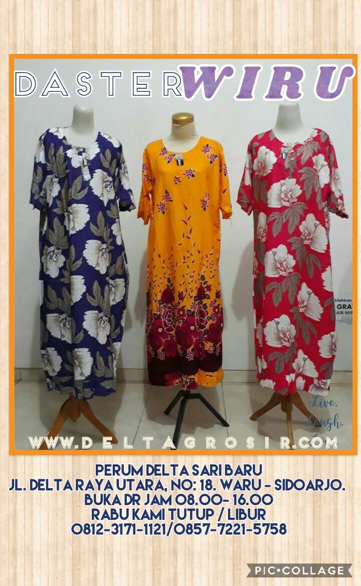 Grosir Baju Murah Surabaya,SMS/WA ORDER ke 0857-7221-5758 Sentra Kulakan Daster Wiru Dewasa Murah Surabaya 31Ribu