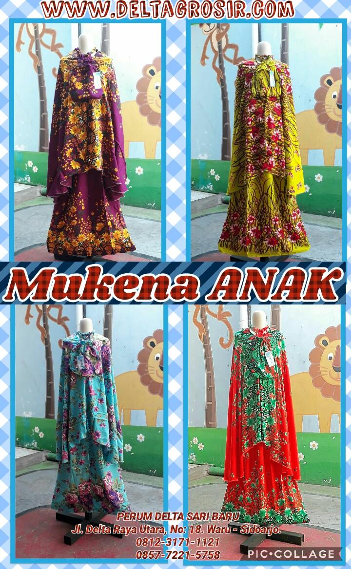 Grosir Baju Murah Surabaya,SMS/WA ORDER ke 0857-7221-5758 Pusat Kulakan Mukena Anak Lucu Murah Surabaya 49Ribuan
