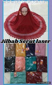 Grosir Baju Murah Surabaya,SMS/WA ORDER ke 0857-7221-5758 Konveksi Jilbab Serut Laser Dewasa Murah Surabaya