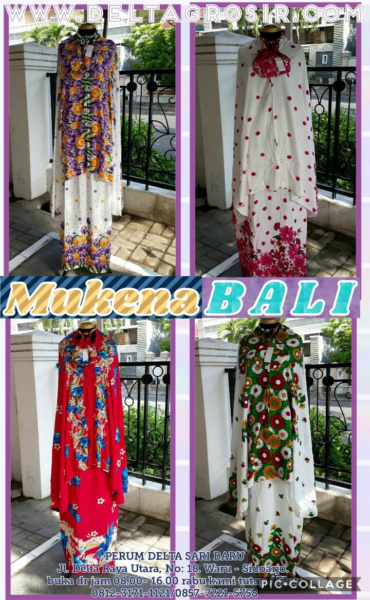 Grosir Baju Murah Surabaya,SMS/WA ORDER ke 0857-7221-5758 Sentra Kulakan Mukena Bali TG Dewasa Murah Surabaya 60Ribu