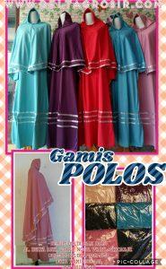 Grosir Baju Murah Surabaya,SMS/WA ORDER ke 0857-7221-5758 Supplier Gamis Jersey Polos Syari Dewasa Murah