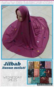 Grosir Baju Murah Surabaya,SMS/WA ORDER ke 0857-7221-5758 Supplier Jilbab Susun Melati Dewasa Syari Murah