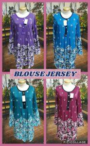 Grosir Baju Murah Surabaya,SMS/WA ORDER ke 0857-7221-5758 Kulakan Blouse Jersey Wanita Dewasa Murah