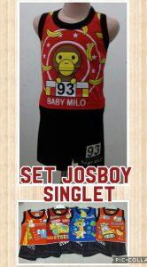 Grosir Baju Murah Surabaya,SMS/WA ORDER ke 0857-7221-5758 Supplier Setelan Singlet Josboy Anak Laki Laki Murah