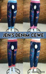 Grosir Baju Murah Surabaya,SMS/WA ORDER ke 0857-7221-5758 Agen Celana Jeans Denim Anak Cewe Terbaru Murah