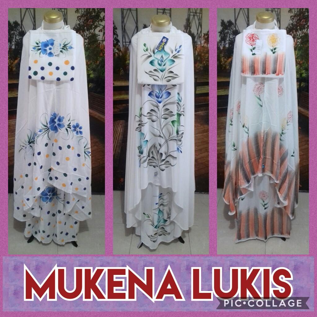 Grosir Baju Murah Surabaya,SMS/WA ORDER ke 0857-7221-5758 Distributor Mukena Bali Lukis Dewasa Murah Surabaya 75Ribu