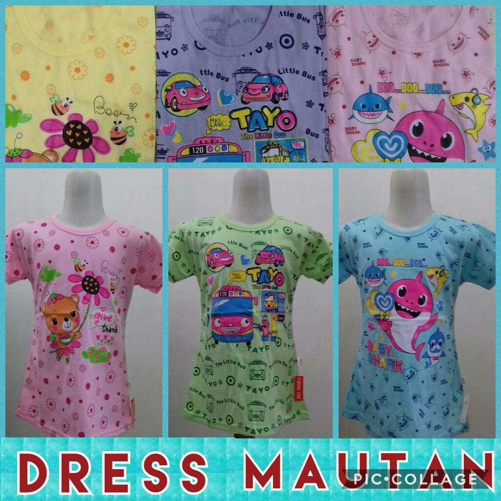 Grosir Baju Murah Surabaya,SMS/WA ORDER ke 0857-7221-5758 Sentra Kulakan Dress Mautan Anak Perempuan Karakter Murah Surabaya 10Ribu