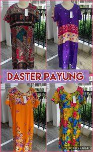 Grosir Baju Murah Surabaya,SMS/WA ORDER ke 0857-7221-5758 Supplier Daster Payung Dewasa Terbaru Murah Surabaya
