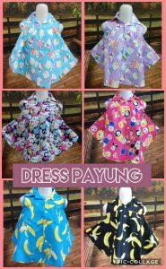 Grosir Baju Murah Surabaya,SMS/WA ORDER ke 0857-7221-5758 Distributor Dress Payung Anak Perempuan Murah