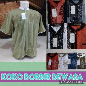 Grosir Baju Murah Surabaya,SMS/WA ORDER ke 0857-7221-5758 Pabrik Koko Bordir Dewasa Murah 45ribuan