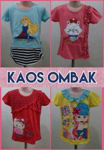 Grosir Baju Murah Surabaya,SMS/WA ORDER ke 0857-7221-5758 Produsen KAOS OMBAK Anak Perempuan Murah Surabaya