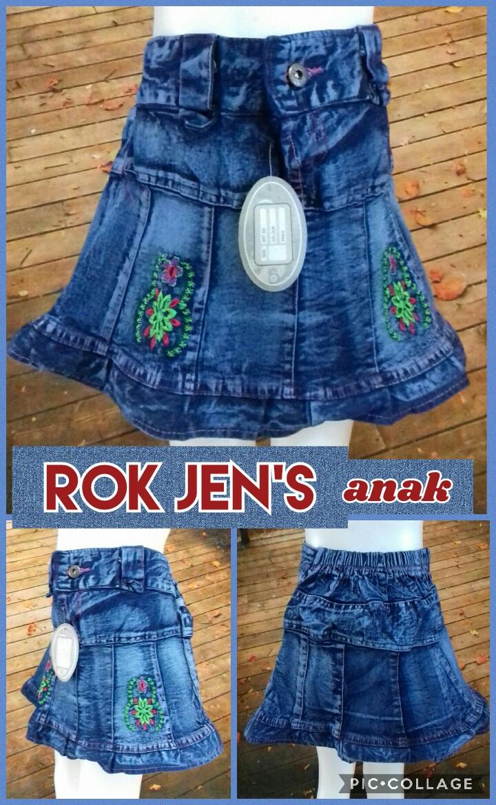 Grosir Baju Murah Surabaya,SMS/WA ORDER ke 0857-7221-5758 Pabrik Rok Jeans Anak Perempuan Terbaru Murah Surabaya 18Ribu