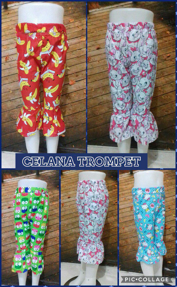 Grosir Baju Murah Surabaya,SMS/WA ORDER ke 0857-7221-5758 Pusat Kulakan Celana Terompet Anak Murah 17Ribuan