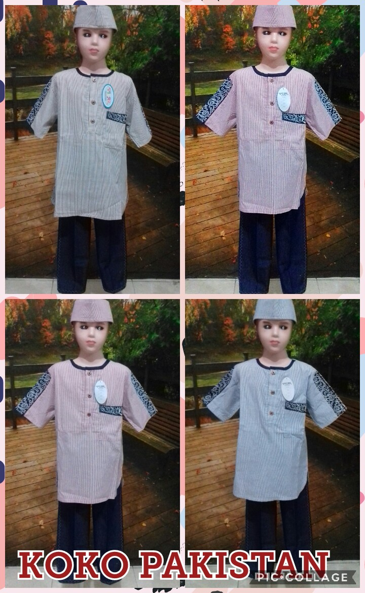 Grosir Baju Murah Surabaya,SMS/WA ORDER ke 0857-7221-5758 Distributor Baju Koko Pakistan Anak Murah 59 Ribuan