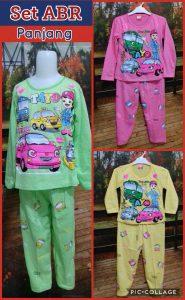 Grosir Baju Murah Surabaya,SMS/WA ORDER ke 0857-7221-5758 Pabrik Baju Anak Set ABR panjang Murah Surabaya 27ribuan