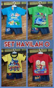 Grosir Baju Murah Surabaya,SMS/WA ORDER ke 0857-7221-5758 Supplier Baju Anak Set Havilah O Murah Surabaya 18ribuan
