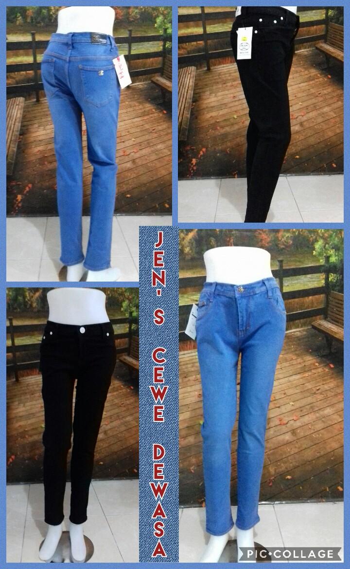 Grosir Baju Murah Surabaya,SMS/WA ORDER ke 0857-7221-5758 Supplier Jeans Panjang Cewe Terbaru Murah Surabaya 60ribuan