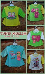 Grosir Baju Murah Surabaya,SMS/WA ORDER ke 0857-7221-5758 Pusat Kulakan Kaos Tunik Muslim 3-5 th Murah Surabaya 20ribuan