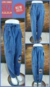 Grosir Baju Murah Surabaya,SMS/WA ORDER ke 0857-7221-5758 Supplier celana levis sobek anak murah surabaya 32ribuan