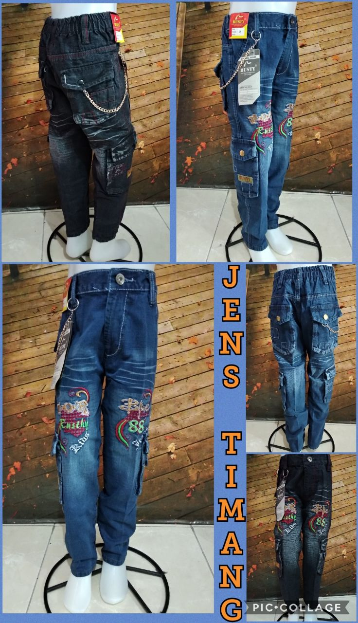 Grosir Baju Murah Surabaya,SMS/WA ORDER ke 0857-7221-5758 Konveksi Celana Jeans Anak Murah 45ribuan