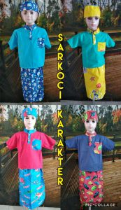 Grosir Baju Murah Surabaya,SMS/WA ORDER ke 0857-7221-5758 Pabrik Sarkoci Karakter Anak Murah 35ribuan