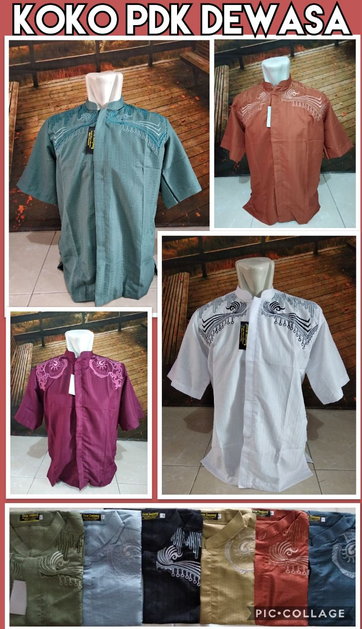 Grosir Baju Murah Surabaya,SMS/WA ORDER ke 0857-7221-5758 Distributor Koko Lengan Pendek Murah 32Ribuan