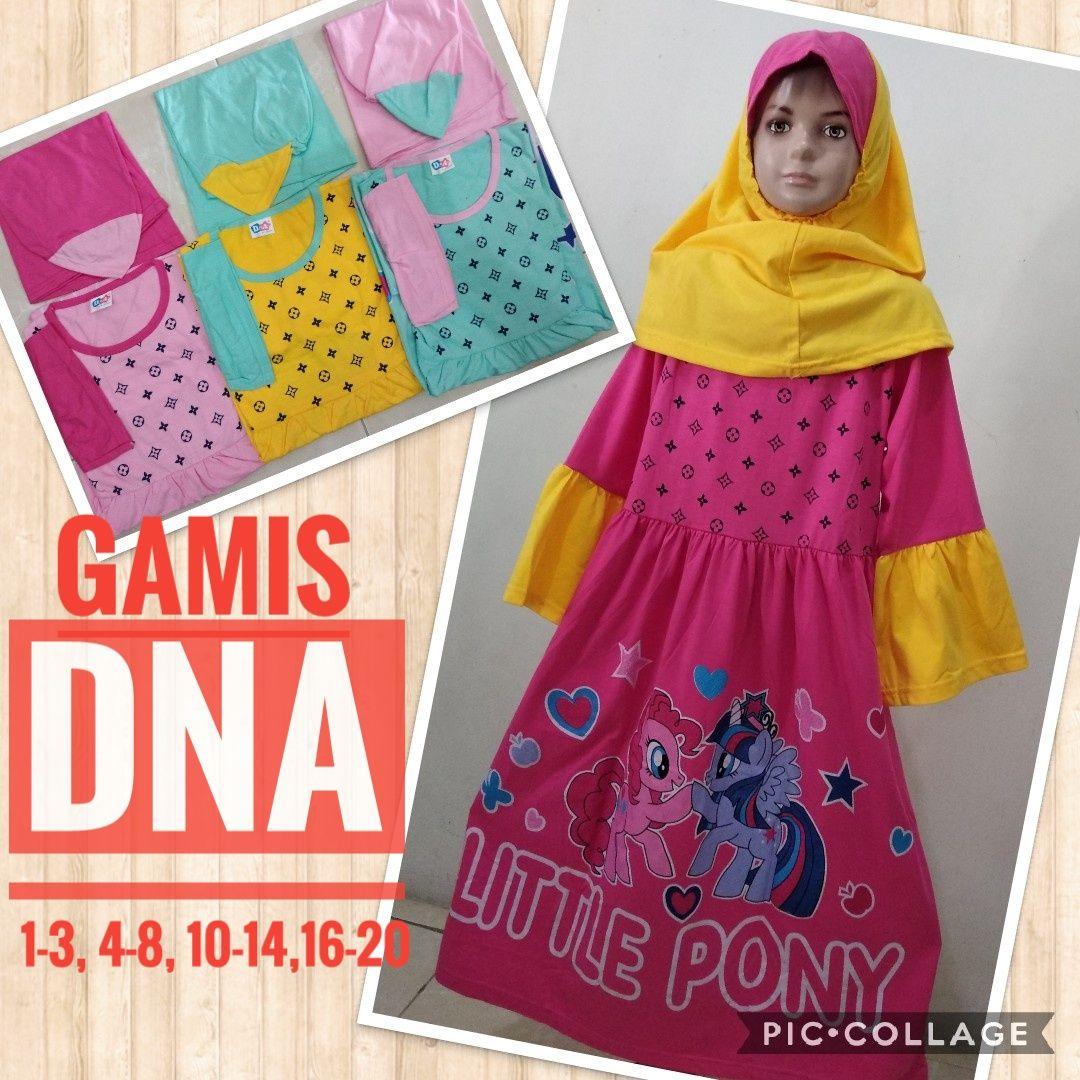 Grosir Baju Murah Surabaya,SMS/WA ORDER ke 0857-7221-5758 Pabrik Gamis DNA Anak Murah 32ribuan