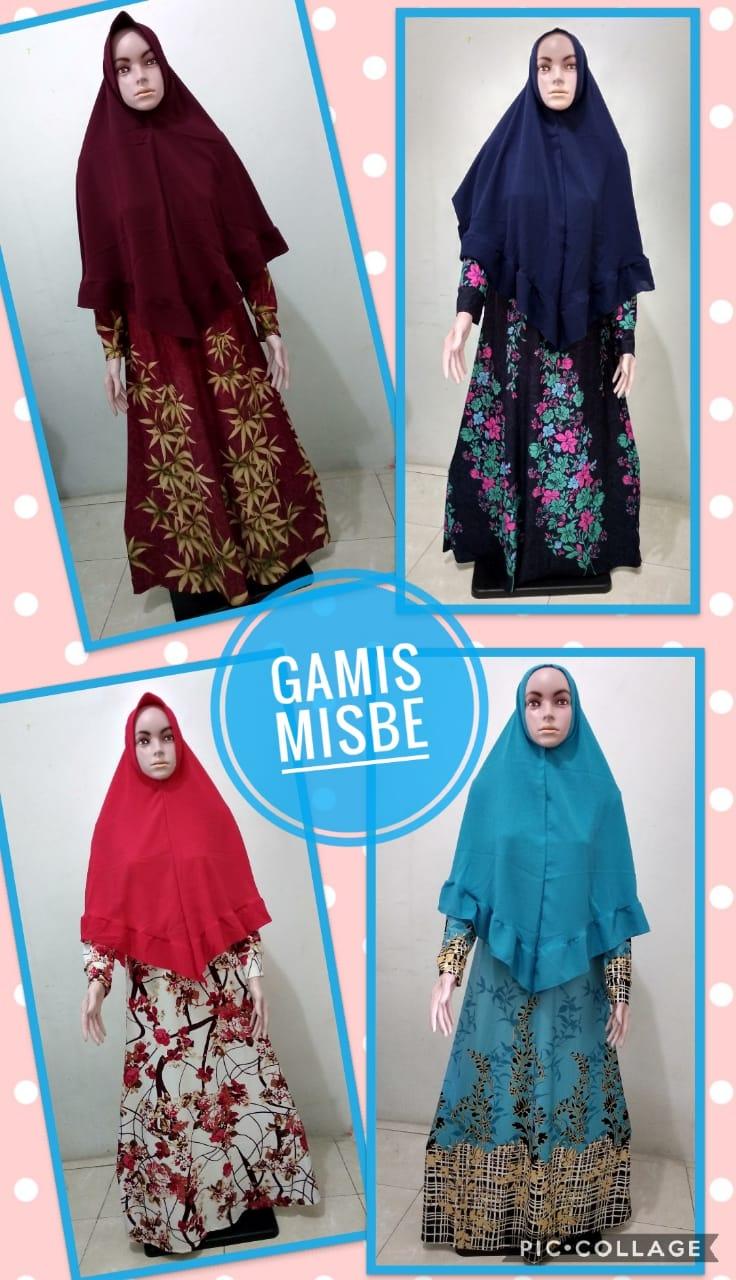 Grosir Baju Murah Surabaya,SMS/WA ORDER ke 0857-7221-5758 Grosir Gamis Misby Dewasa Murah 82ribuan