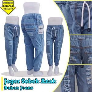 Grosir Baju Murah Surabaya,SMS/WA ORDER ke 0857-7221-5758 Grosir Celana Jogger Sobek Anak Murah 35ribuan