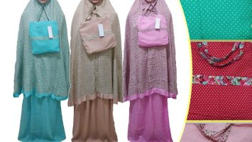 Grosir Baju Murah Surabaya,SMS/WA ORDER ke 0857-7221-5758 Distributor Mukena Santung Murah 74ribuan