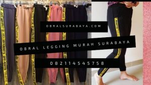 Grosir Baju Murah Surabaya,SMS/WA ORDER ke 0857-7221-5758 obral celana legging surabaya