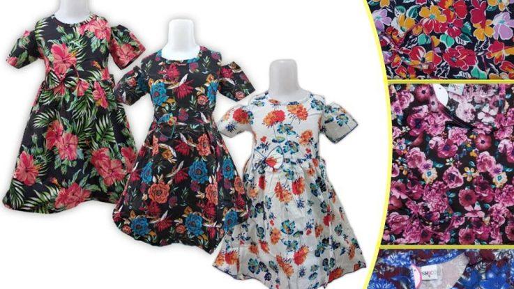 Obral Baju Anak Murah Surabaya | Grosir Baju Murah Surabaya Supplier Dress Cotton Anak Murah di Surabaya
