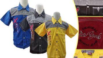Grosir Baju Murah Surabaya,SMS/WA ORDER ke 0857-7221-5758 Pabrik Kemeja Street Anak Murah di Surabaya