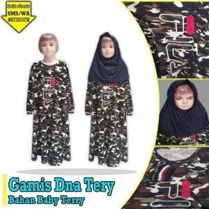 Grosir Baju Murah Surabaya,SMS/WA ORDER ke 0857-7221-5758 Konveksi Gamis DNA Terry Anak Murah 42ribuan