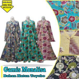 Grosir Baju Murah Surabaya,SMS/WA ORDER ke 0857-7221-5758 Pabrik Gamis Monalisa Dewasa Murah di Surabaya
