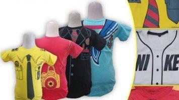 Grosir Baju Murah Surabaya,SMS/WA ORDER ke 0857-7221-5758 Produsen Kaos Anak Profesi Murah di Surabaya