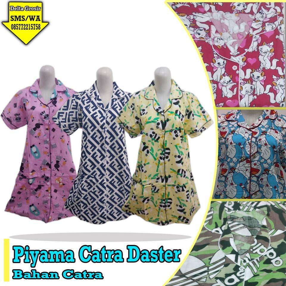 Grosir Baju Murah Surabaya,SMS/WA ORDER ke 0857-7221-5758 Produsen Piyama Catra Daster Dewasa Murah di Surabaya
