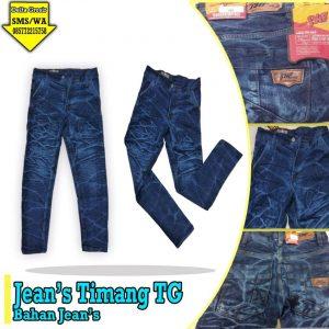 Grosir Baju Murah Surabaya,SMS/WA ORDER ke 0857-7221-5758 Grosir Celana Jeans Timang Tanggung Murah di Surabaya