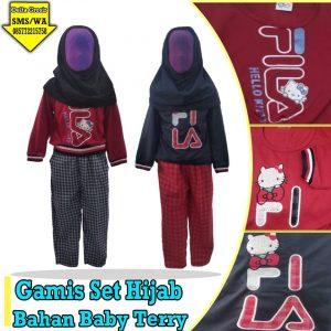 Grosir Baju Murah Surabaya,SMS/WA ORDER ke 0857-7221-5758 Pabrik Gamis Set Hijab Murah di Surabaya