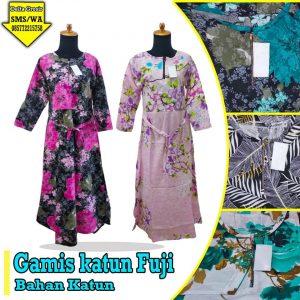 Grosir Baju Murah Surabaya,SMS/WA ORDER ke 0857-7221-5758 Grosir Gamis Katun Fuji Dewasa Murah di Surabaya