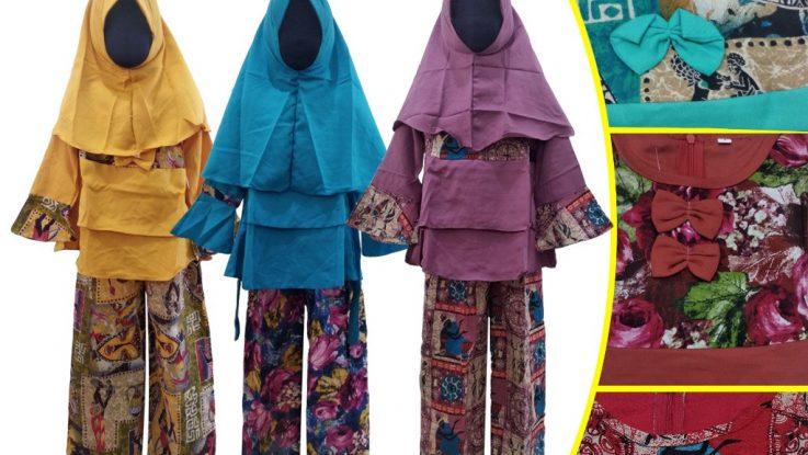 Grosir Baju Murah Surabaya,SMS/WA ORDER ke 0857-7221-5758 Pabrik Gamis Linen Anak Murah di Surabaya
