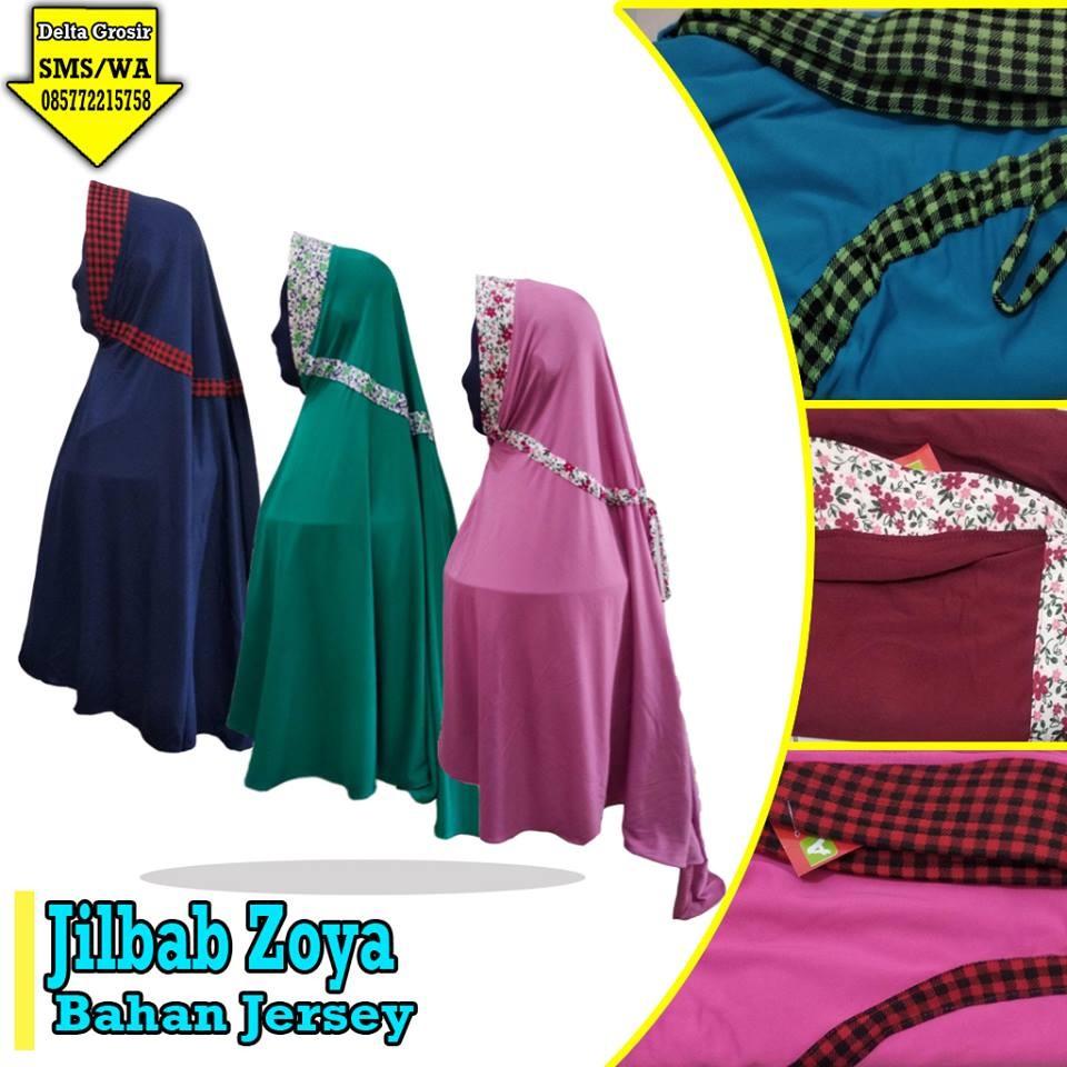 Grosir Baju Murah Surabaya,SMS/WA ORDER ke 0857-7221-5758 Produsen Jilbab Zoya Dewasa Murah di Surabaya
