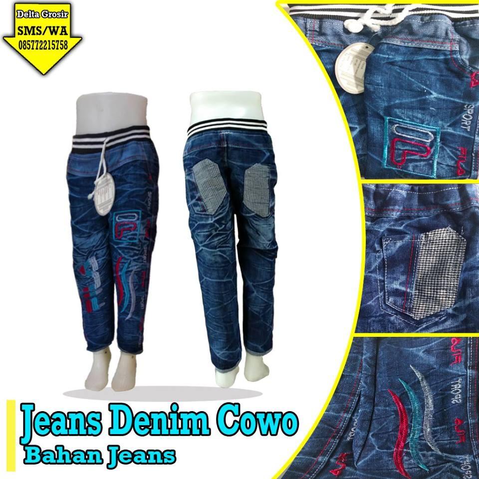 Grosir Baju Murah Surabaya,SMS/WA ORDER ke 0857-7221-5758 Pusat Kulakan Celana Jeans Denim Anak Murah di Surabaya