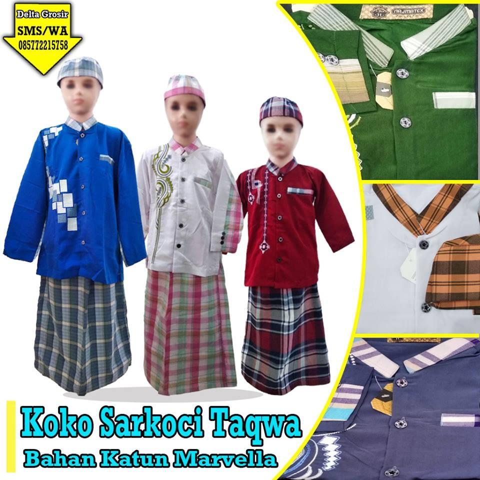 Grosir Baju Murah Surabaya,SMS/WA ORDER ke 0857-7221-5758 Pusat Grosir Koko Sarkoci Anak Murah di Surabaya