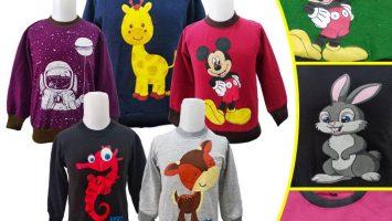 Grosir Baju Murah Surabaya,SMS/WA ORDER ke 0857-7221-5758 Grosir Sweater Anak Terbaru Murah di Surabaya