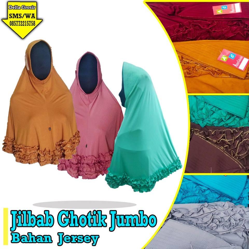 Grosir Baju Murah Surabaya,SMS/WA ORDER ke 0857-7221-5758 Supplier Jilbab Gothik Jumbo Murah di Surabaya