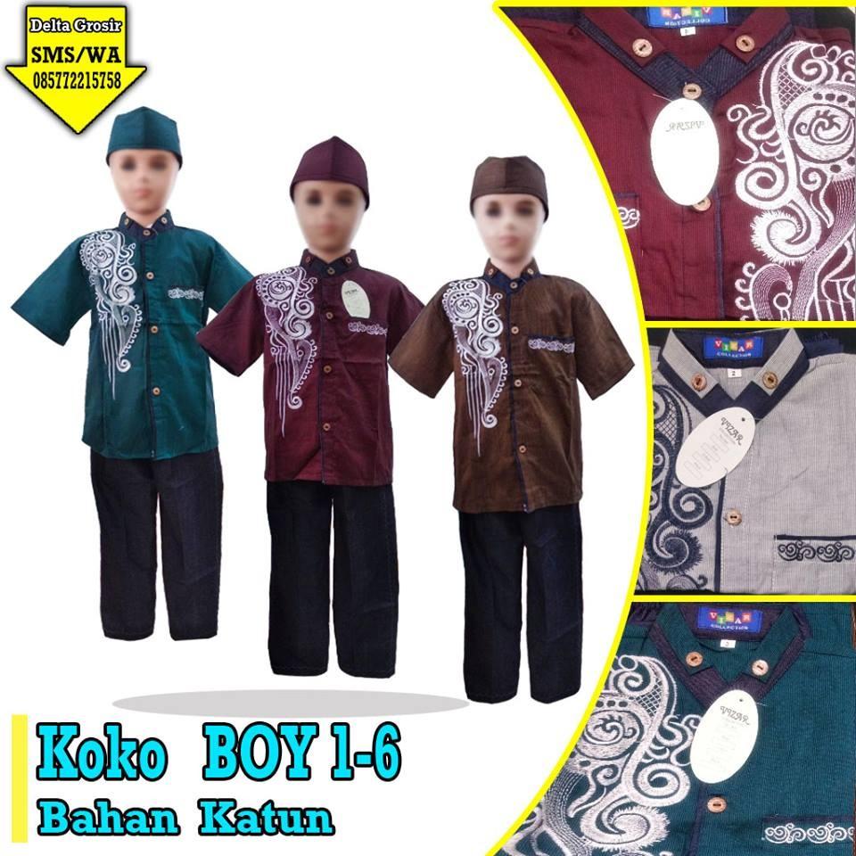 Grosir Baju Murah Surabaya,SMS/WA ORDER ke 0857-7221-5758 Pusat Kulakan Koko Boy Anak Murah di Surabaya