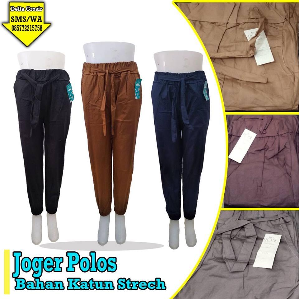 Grosir Baju Murah Surabaya,SMS/WA ORDER ke 0857-7221-5758 Grosir Jogger Polos Dewasa Murah di Surabaya